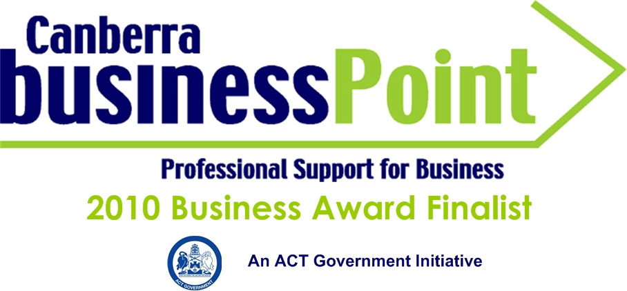 Special Finalists Logo for Canberra BusinessPoint Awards