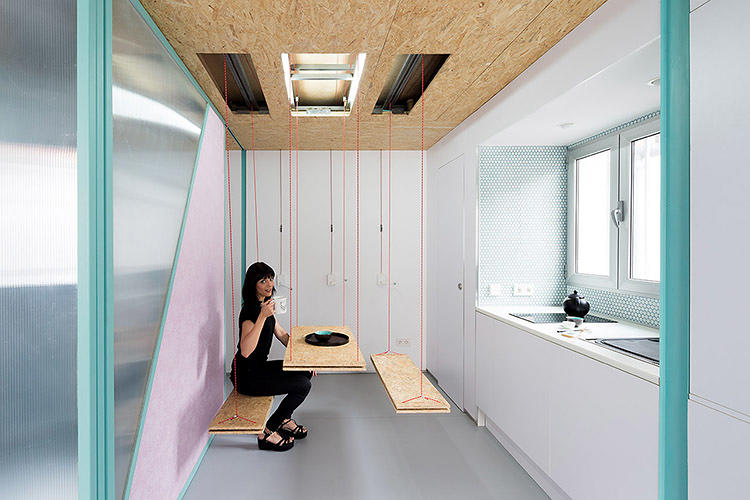 Clever Micro Apartment Design