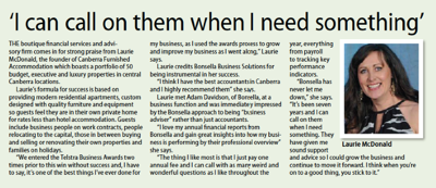 Bonsella Business Solutions & Laurie McDonald