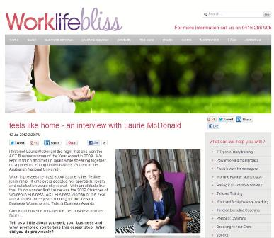 Image of Work Life Bliss Article